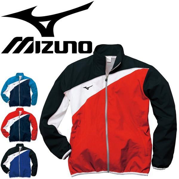 トレーニングウェア ジャケット メンズ レディース ミズノ mizuno クロスシャツ アウター 裏メッシュ 水泳 水球 チーム/N2JC9020【取寄】【返品不可】