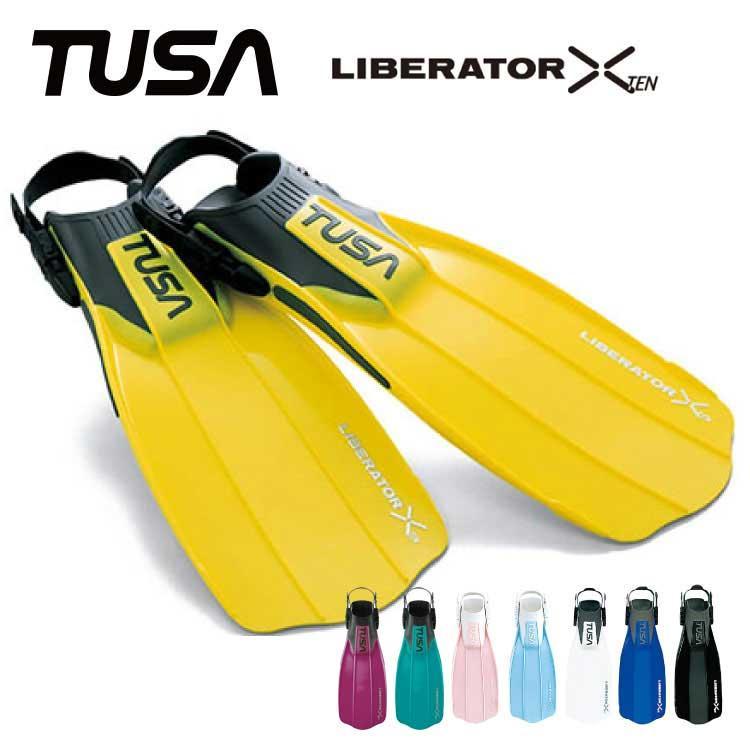 ダイビング用フィン TUSA/ツサ リブレーターテン SF-5000/SF-5500 ストラップフィン 足ひれ[30304005]|aqrosnetshop