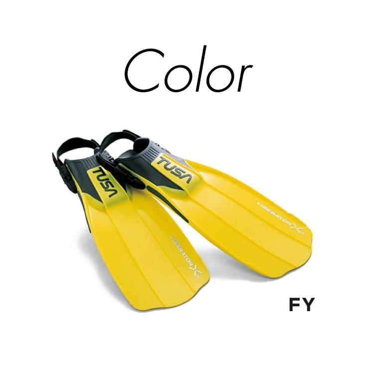 ダイビング用フィン TUSA/ツサ リブレーターテン SF-5000/SF-5500 ストラップフィン 足ひれ[30304005]|aqrosnetshop|05