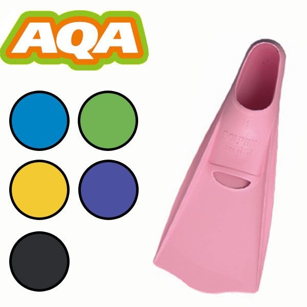 AQA スノーケリング用フィン ドルフィンカラー KF-2118G[31310015] aqrosnetshop