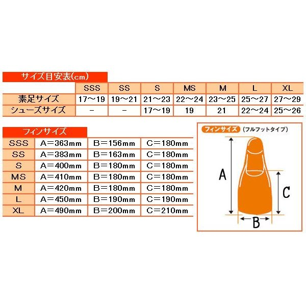 AQA スノーケリング用フィン ドルフィンカラー KF-2118G[31310015] aqrosnetshop 03