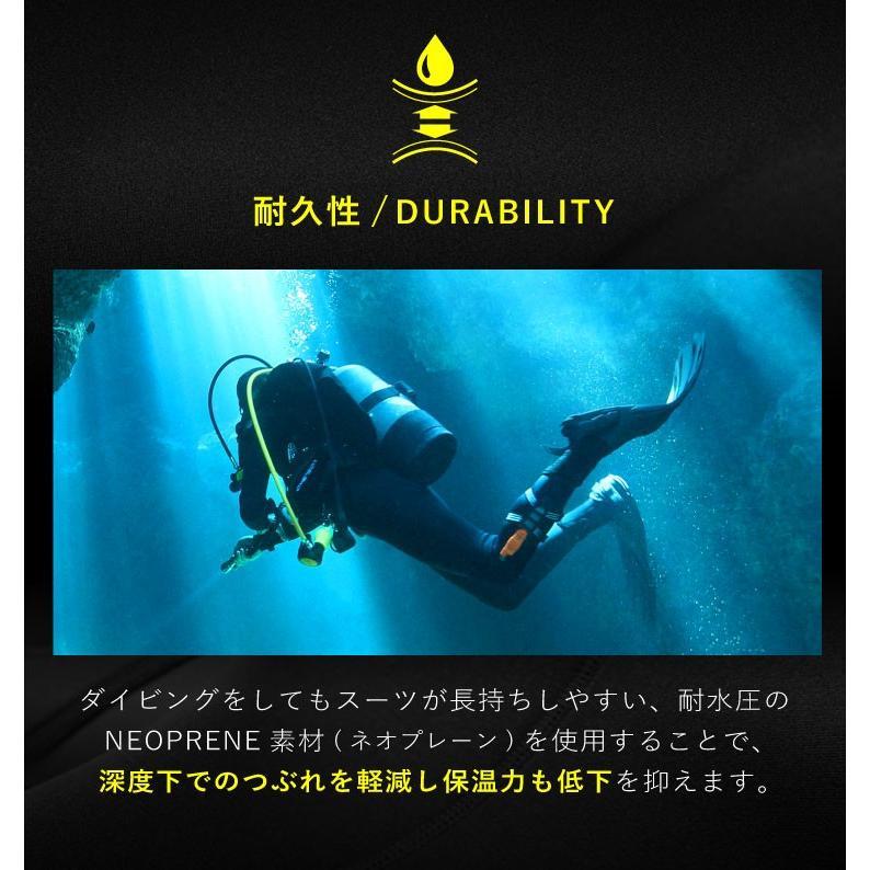 ウェットスーツ メンズ 3mm ウエットスーツ フルスーツ HeleiWaho ヘレイワホ CLASSIC クラシック aqrosnetshop 11