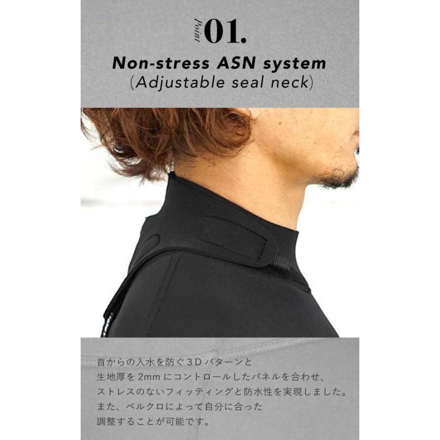 ウェットスーツ メンズ 3mm ウエットスーツ フルスーツ HeleiWaho ヘレイワホ CLASSIC クラシック aqrosnetshop 13