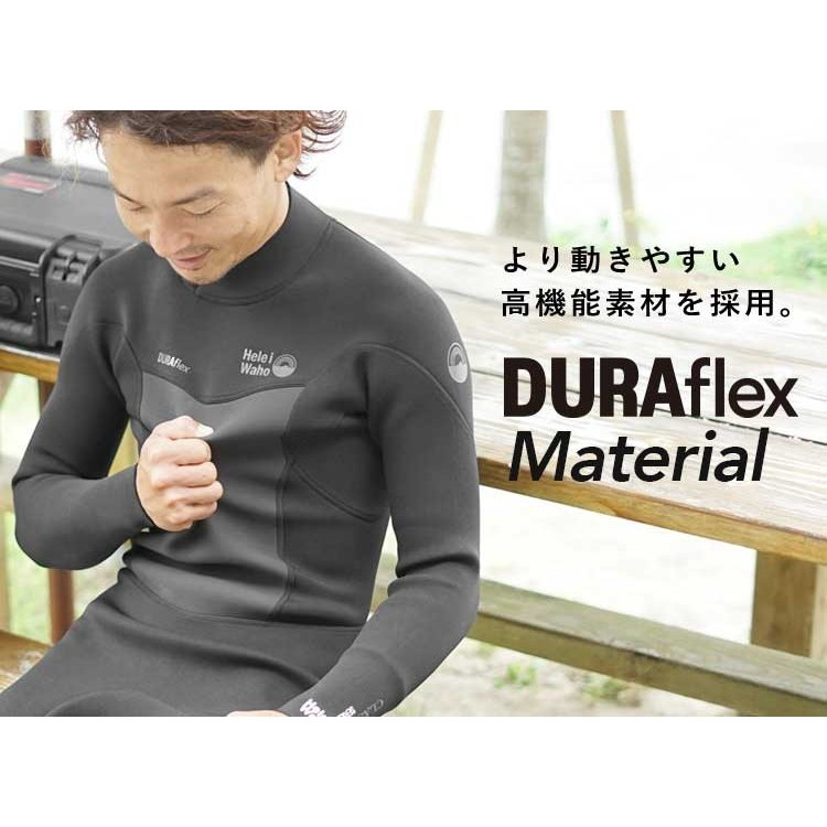 ウェットスーツ メンズ 3mm ウエットスーツ フルスーツ HeleiWaho ヘレイワホ CLASSIC クラシック aqrosnetshop 03