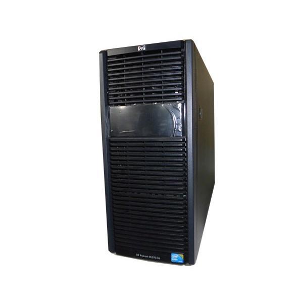 HP ProLiant ML370 G6 AV843A Xeon X5560 2.8GHz 8GB 500GB×2 (SATA 2.5インチ) DVD-ROM Smartアレイ P410i