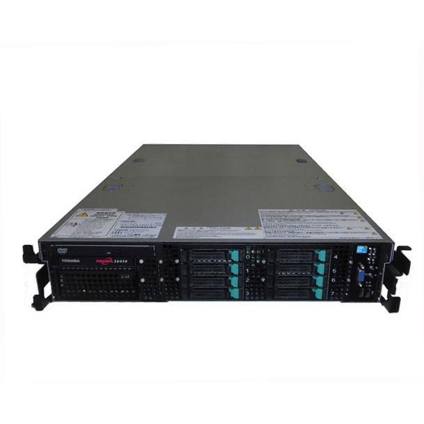 東芝 MAGNIA 3605R (SYU4170A) Xeon E5520 2.26GHz×2 64GB HDDなし DVD-ROM AC*2