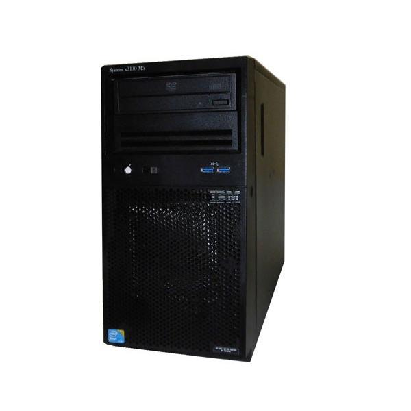 IBM System x3100 M5 5457-PAF Xeon E3-1220 V3 3.1GHz 8GB HDDなし DVD-ROM