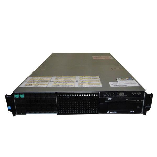 HITACHI HA8000/RS220-h HM2 (GQU222HM-TNANNN2) Xeon E5-2630 V2 2.6GHz 8GB 300GB×2 (SAS 2.5インチ) DVD-ROM AC*2