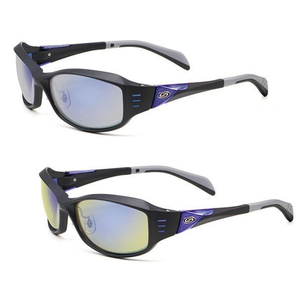 ポリカーボネート偏光サングラス ストームライダー STORM RIDER SR-010P(1/2) ファッションカーブタイプ2 ケース&メガネ拭き付き 愛眼 送料無料