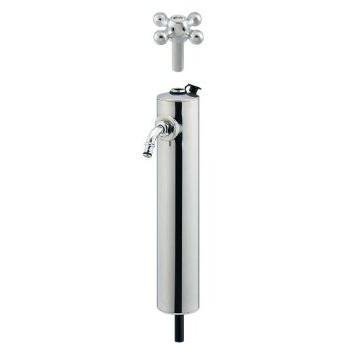 カクダイ 共用ステンレス水栓柱 ショート型 624-082