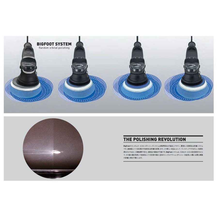 RUPES LHR15 MarkII MARK2 MK2 正規輸入品 日本仕様(100V) ルペス マーク2正規品でアフターメンテも安心|aquawing-japan|06