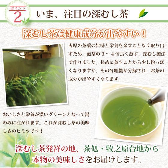 お歳暮 お茶 緑茶 茶葉 プレゼント ギフト 水出し緑茶 静岡茶 カテキン 高級茶 望金印3袋箱入 送料無料|arahata|12