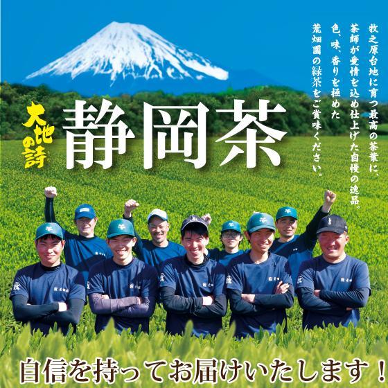 お歳暮 お茶 緑茶 茶葉 プレゼント ギフト 静岡茶 カテキン 高級 極上新茶3本セット 送料無料|arahata|11
