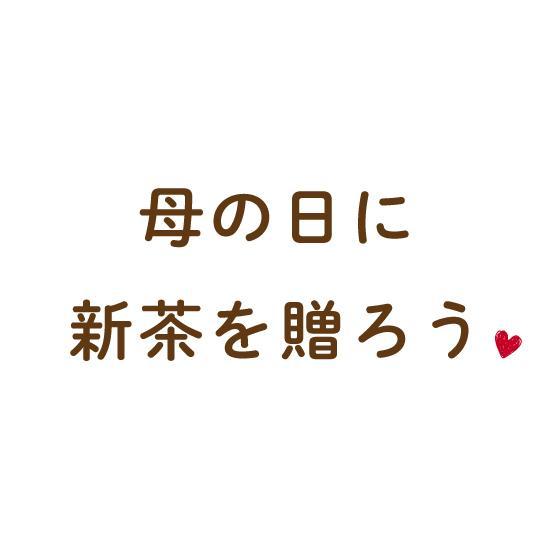 母の日 2021 お茶 新茶 ギフト プレゼント 緑茶 母の日2本箱入り 送料無料|arahata|03