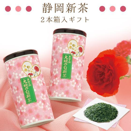 母の日 2021 お茶 新茶 ギフト プレゼント 緑茶 母の日2本箱入り 送料無料|arahata|04
