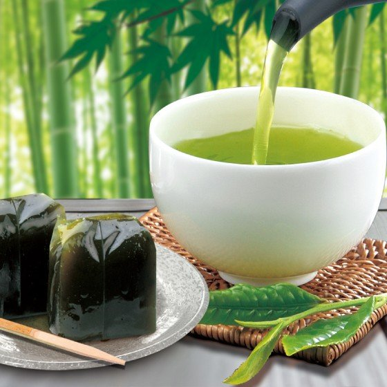 お茶 緑茶 茶葉 プレゼント ギフト 静岡茶 カテキン 和菓子 羊かん 大地の旬羊かん箱入 送料無料 arahata 06