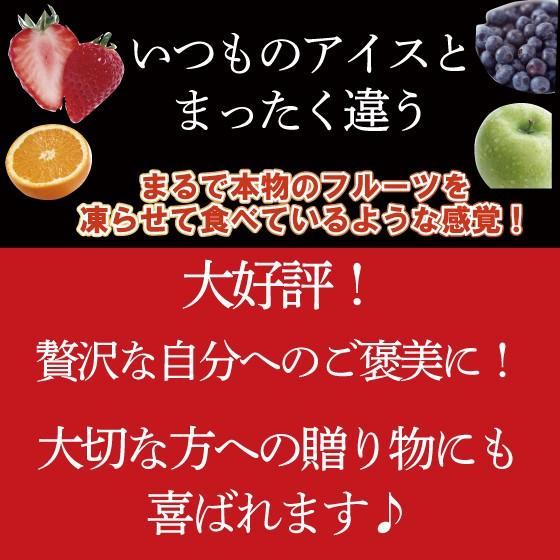 敬老の日 2021 ギフト プレゼント シャーベット アイス フルーツシャーベット 6ヶ入り 送料無料 ■15036|arahata|03