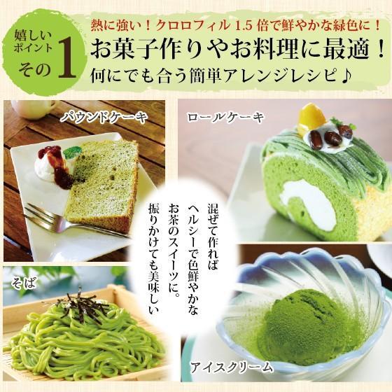 お茶 粉末茶 緑茶 静岡茶 カテキン お茶屋が作った静岡の粉末緑茶 100g×2袋セット 送料無料 セール|arahata|09