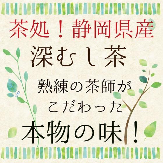 お茶 緑茶 ティーバッグ 静岡茶 水出し カテキン 徳用 100ヶ入り お得 がぶ飲み深むしティーパック 送料無料 セール|arahata|05