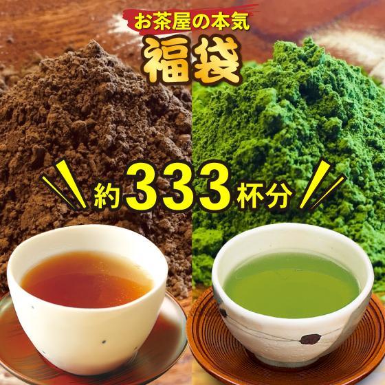 お茶 お試し 福袋 粉末茶 ほうじ茶 緑茶 静岡茶 カテキン 詰め合せ 大入り粉末茶セット 送料無料 セール|arahata