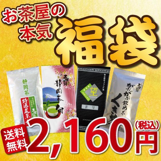 お茶 お試し 緑茶 静岡茶 カテキン 福袋 2021 深蒸し茶 大入り茶葉セット 送料無料 arahata 15