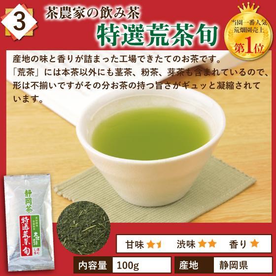 お茶 お試し 緑茶 静岡茶 カテキン 福袋 2021 深蒸し茶 大入り茶葉セット 送料無料 arahata 06