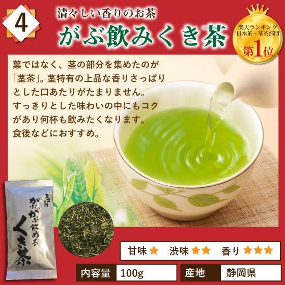 お茶 お試し 緑茶 静岡茶 カテキン 福袋 2021 深蒸し茶 大入り茶葉セット 送料無料 arahata 07