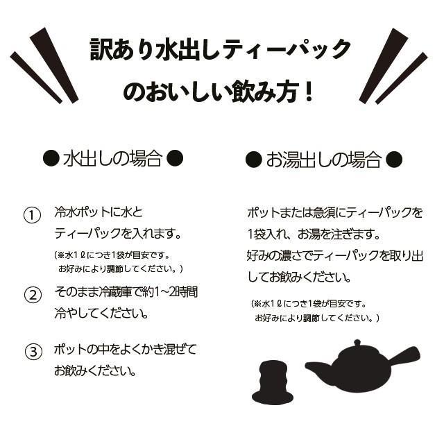 お茶 緑茶 静岡茶 カテキン 徳用 お得 ティーバッグ 水出し煎茶ティーパック 5g×5ヶ 6袋セット 送料無料 セール わけあり arahata 16