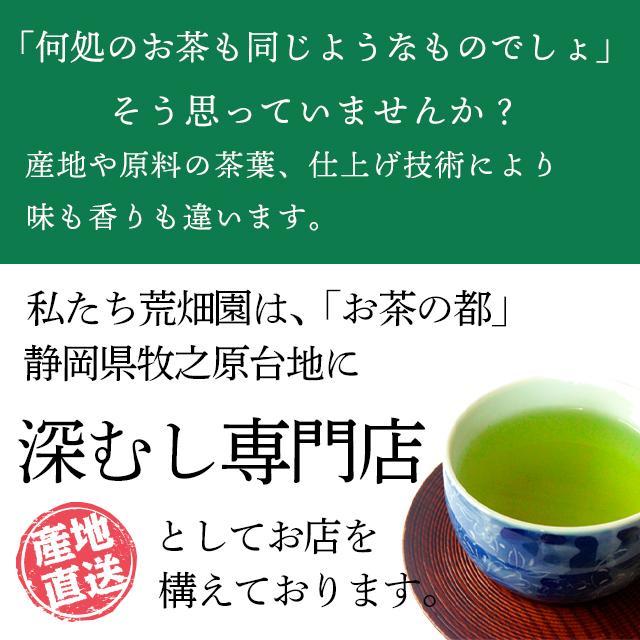 お茶 緑茶 静岡茶 カテキン 徳用 お得 がぶ飲み静岡深むし茶 3袋セット 送料無料 セール ■5892|arahata|04