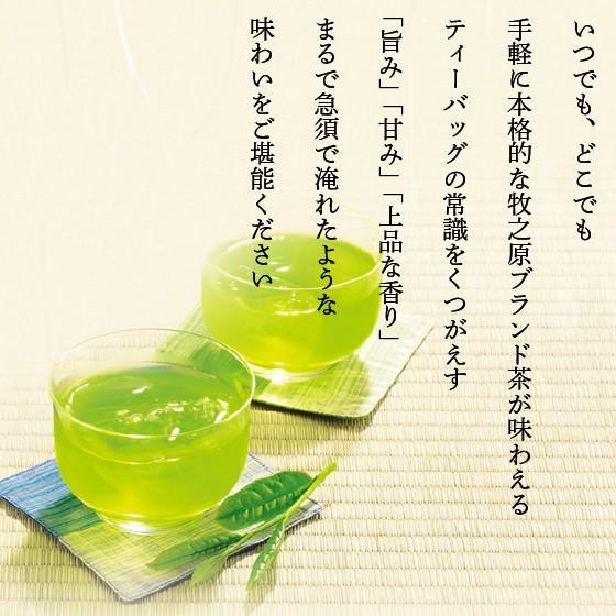 お茶 緑茶 ティーバッグ 静岡茶 カテキン 牧之原ブランド茶 望 銀印ティーパック 2g×30ヶ 送料無料 セール|arahata|20
