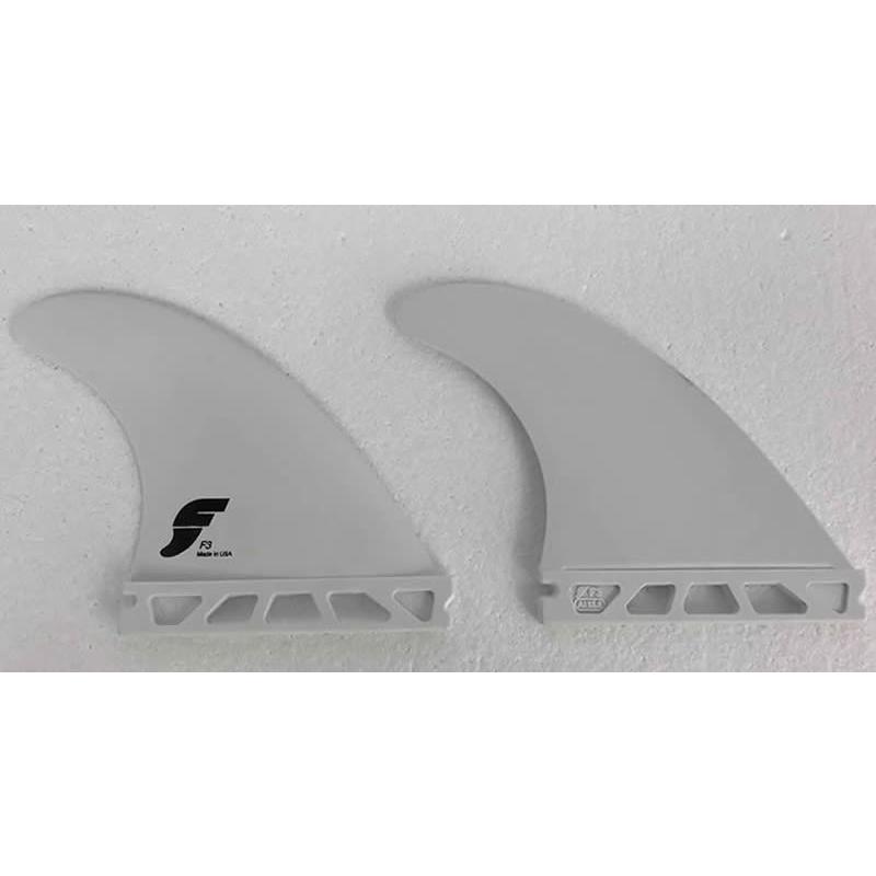 【新品】FUTURE(フューチャー)F3 [白い] THERMO TECH サイドフィン2枚SET SIDE FINS