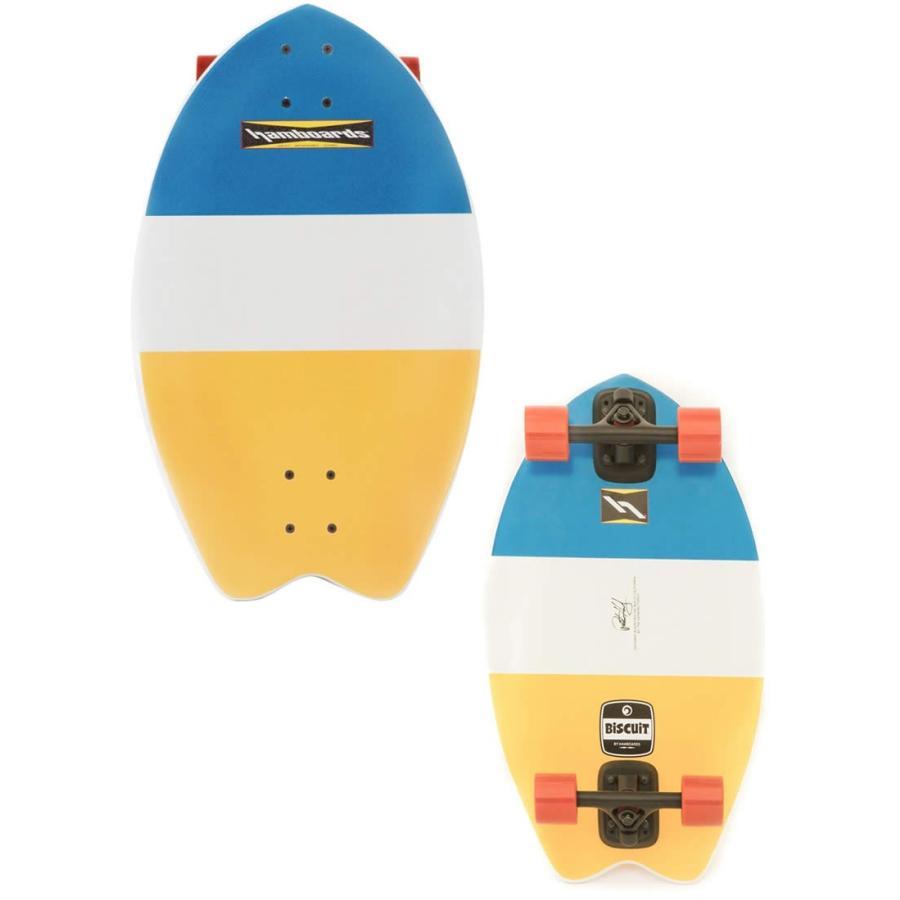 【新品】Hamboards (ハムボード)Biscuit モデル コンプリート スケートボード [Strip] 2'4