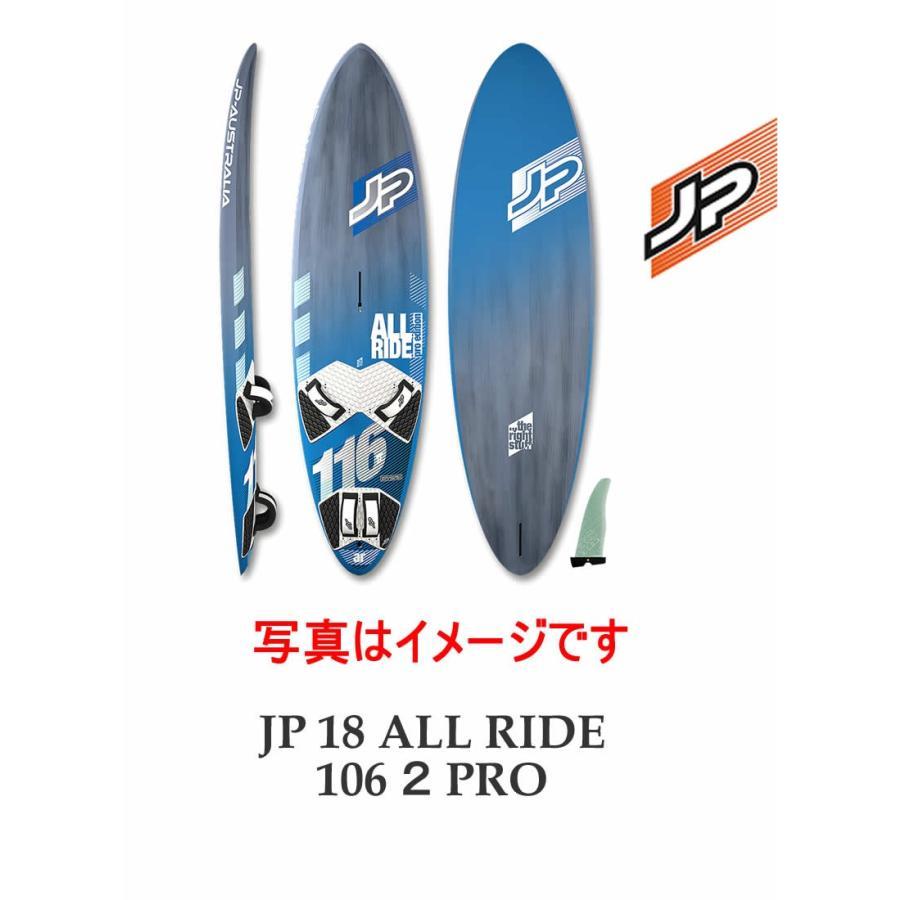 【お取り寄せ】JP-AUSTRALIA(ジェイピーオーストラリア)2018 JP ALL RIDE 106 II PRO 7'10
