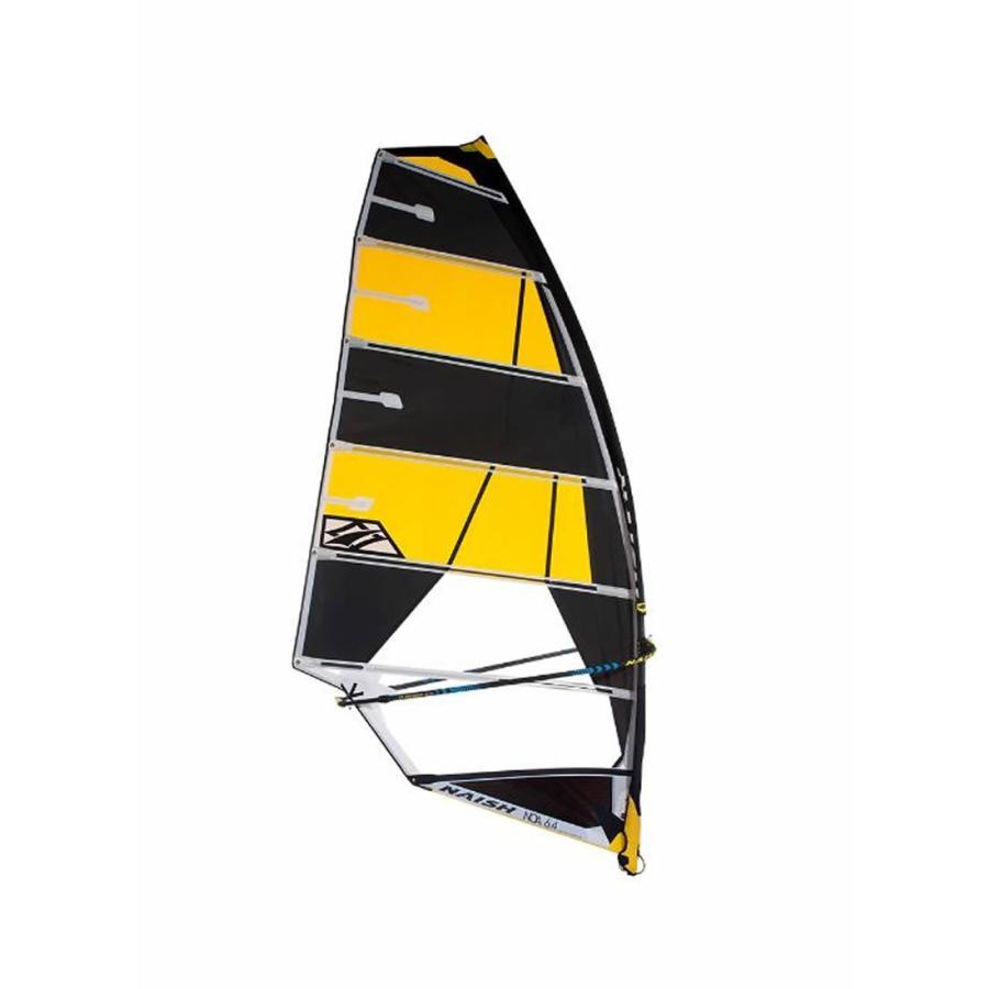 【メーカーお取り寄せ】NAISH(ナッシュ)2019 SAIL NOA モデル [黒×黄]7.0 セイル ウインドサーフィン