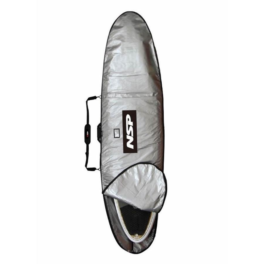 日本製 【メーカーお取り寄せ】 NSP (エヌエスピー)BOARD CASE SUP SURF 2019モデル [SILVER]XL サイズ スタンドアップパドル ボードケース, ITOYA STYLE ad28c660