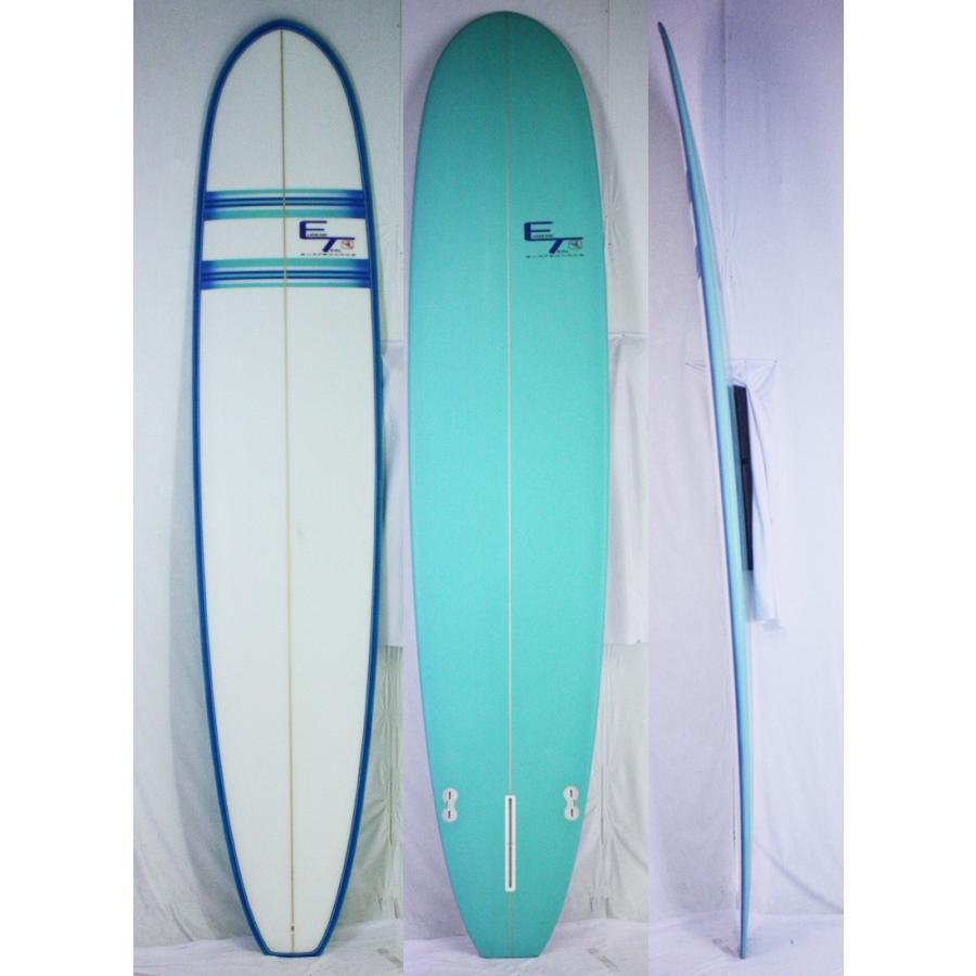誕生日プレゼント 【新品 ET】ET SURFBOARD SURFBOARD (ユージンティール) ET【新品】ET CUSTOM サーフボード [Blue/line] 9'0