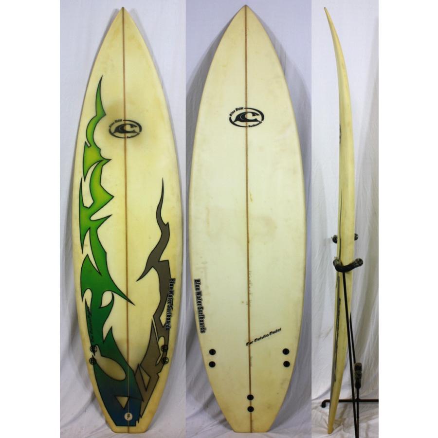 最新の激安 【】BlueWater SURFBOARD サーフボード [brush] 5'10