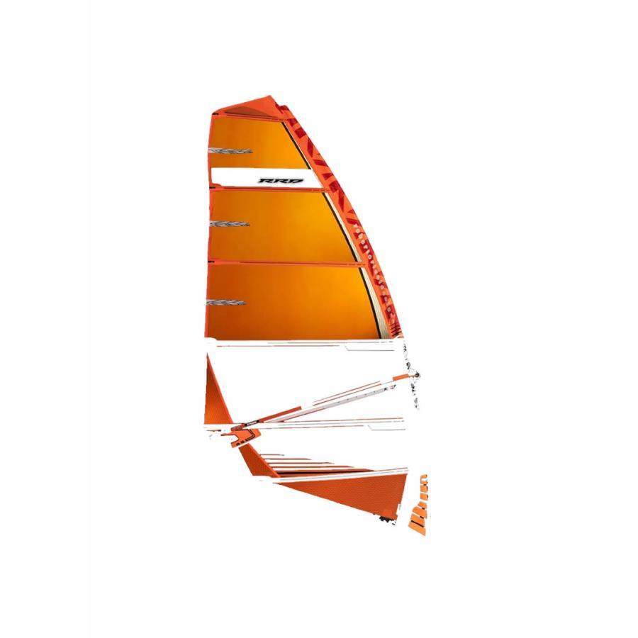 【メーカーお取り寄せ】 RRD(アールアールディー)F-WING MK1 2019モデル[オレンジ]7.2 ウインドサーフィン セイル