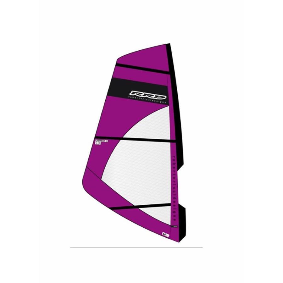【メーカーお取り寄せ】 RRD(アールアールディー) EASY RIDE MK5 2019モデル [紫の]5.0 ウインドサーフィン セイル