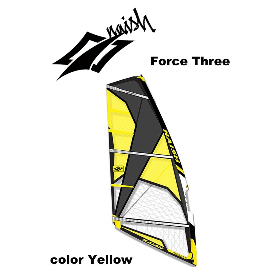 【メーカーお取り寄せ】NAISH(ナッシュ) Force Threeモデル 3.3セイル Sail