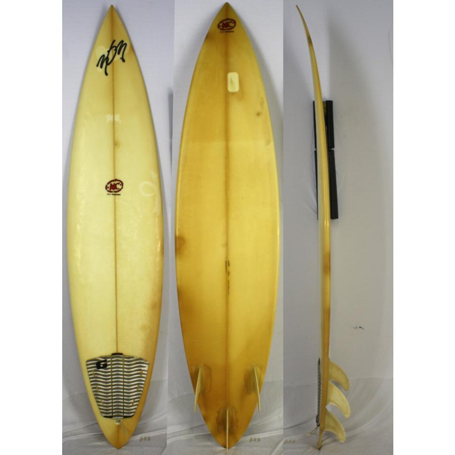 【中古】303 surfboards(three O three) サーフボード [clear] 206.5cm セミガン