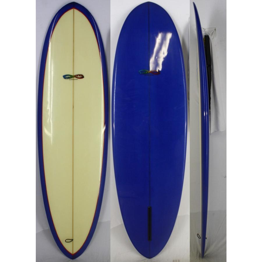【中古】INFINITY(インフィニティー) サーフボード [clear/Blue] 187.5cm ショートボード
