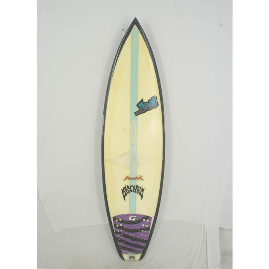【中古】 LOST(ロスト) MAYHEM KOLOHE ANDINO MODEL サーフボード[CLEAR×BLACK] 5'10
