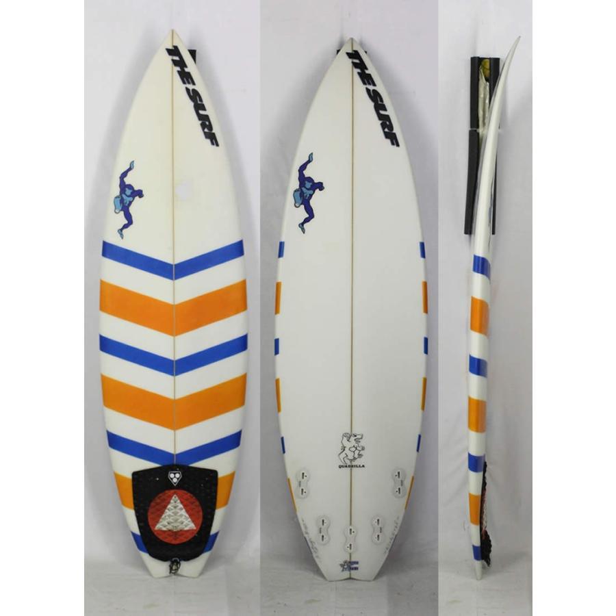 """最安値挑戦! 5'8"""" 【】D-BAUGH SURFBOARDS [クリア/ボーダー]QUADZILLA モデル Shaped by BARRY DEFFENBAUGH サーフボード 現品1本限り!, HDCトータルプロショップ f15f985f"""