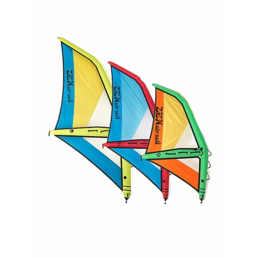 【メーカーお取り寄せ】ZEN (ゼン) AIR SAIL L サイズ 2019モデル [黄×青]4.2セイル ウインドサーフィン