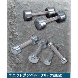 NISHI ニシスポーツ ユニットダンベル 2.0kg 2個セット T2902 ウェイトトレーニング ダンベル