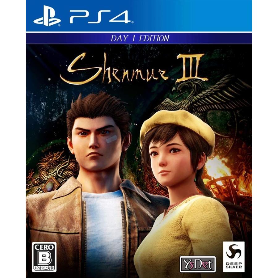 【新品】PS4 シェンムーIII - リテールDay1エディション arc-online