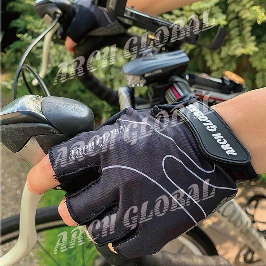 サイクリンググローブ 自転車 手袋 サイクルグローブ 夏 立体 3D 衝撃吸収 通気性 シリコン 滑り止め付き メンズ レディース ロードバイク 春 秋|arch-global|12