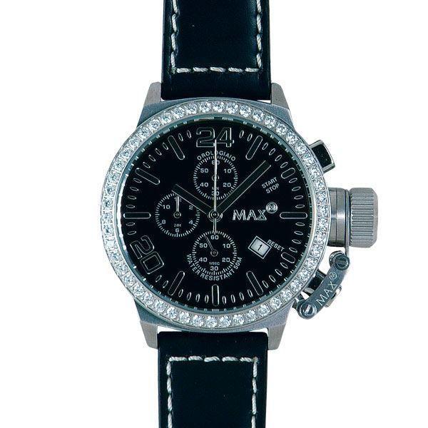 本物の MAX XL WATCHES(マックスエックスエルウォッチ) 5-MAX 418 42mm Face ガラス付腕時計, 稚内市 b3edd864