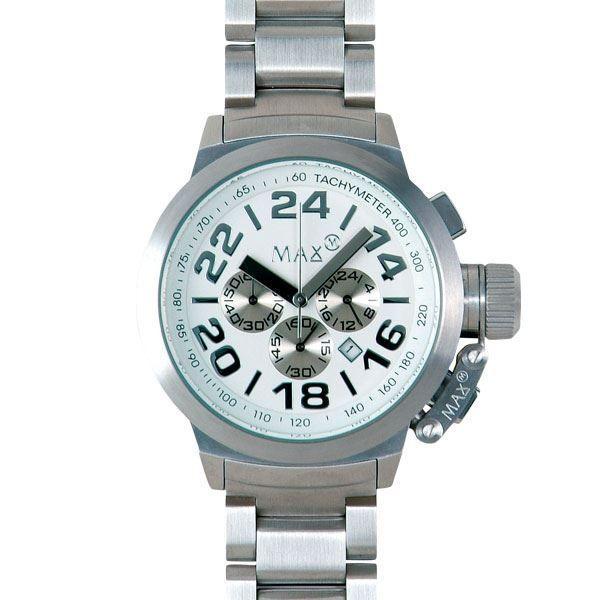 [定休日以外毎日出荷中] MAX XL WATCHES(マックスエックスエルウォッチ) 5-MAX455 47mm Face メタルバンド腕時計, PHOTOGENIQUE fe894b7e